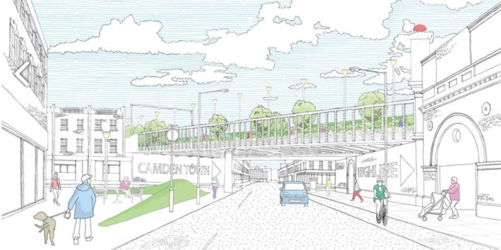 Camden Highline highstreet plan