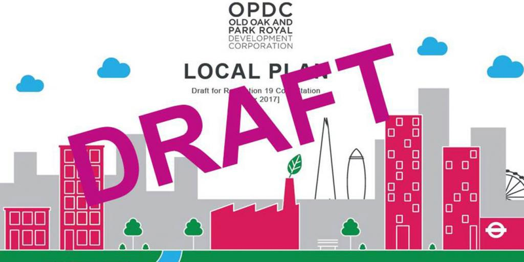OPDC - Draft Local Plan cover