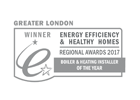 Boiler and Heating Installer of the Year 2017 winner emblem