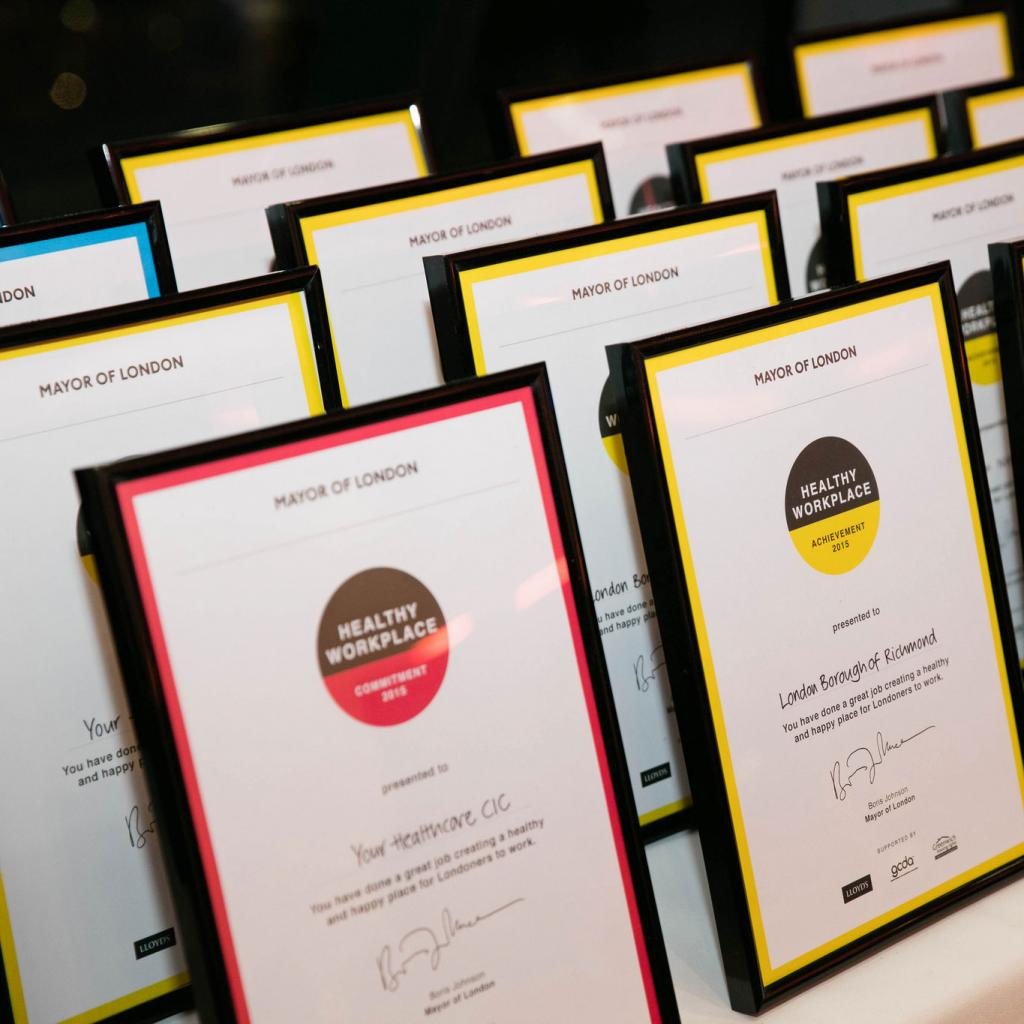Healthy Workplace Charter Awards