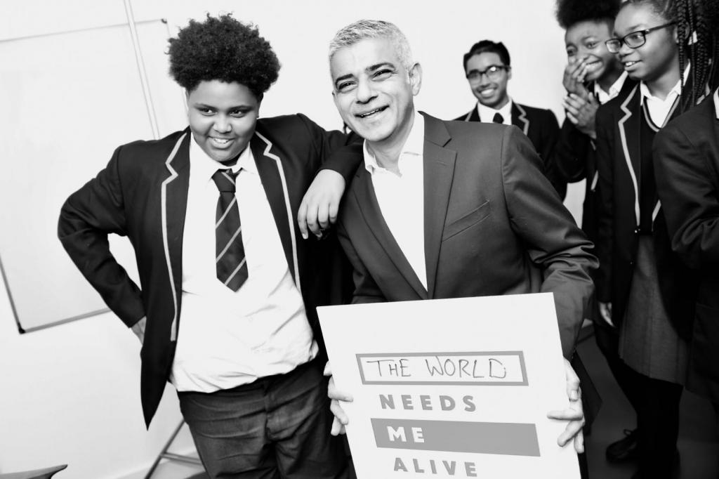 Mayor London Needs You Alive exhibition