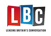 LBC logo (Leading Britain's Conversations)