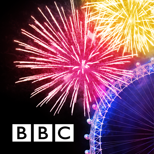 BBC is providing a 360 view of the London New Year's Eve fireworks