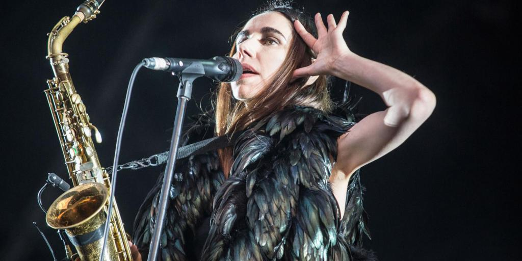 PJ Harvey at field day festival