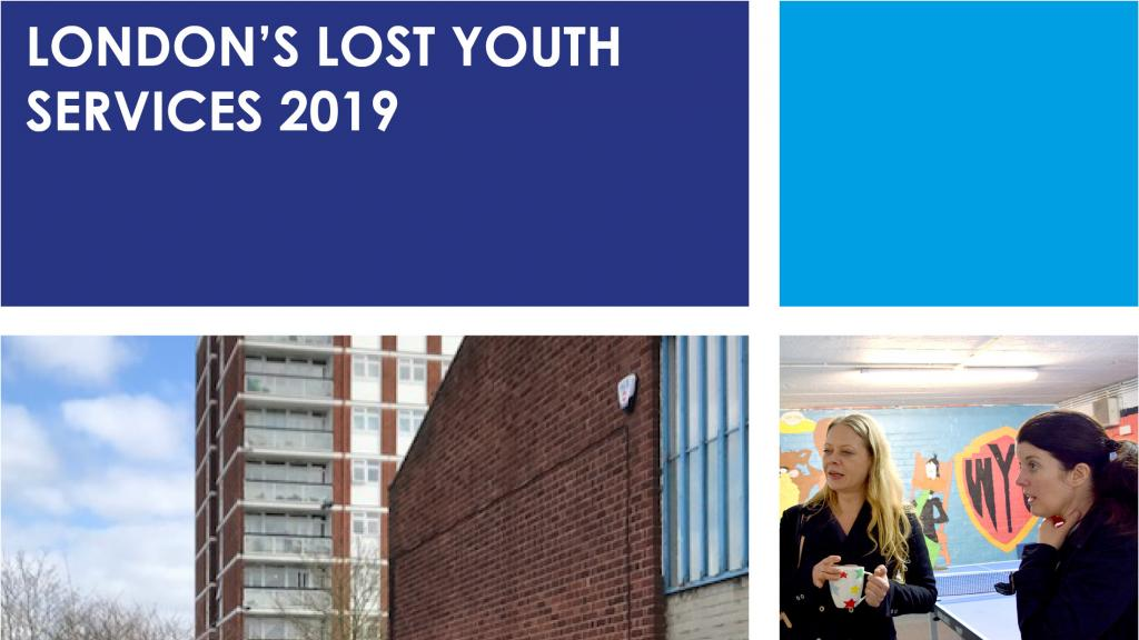 Sian Berry 2019 Youth Services report image