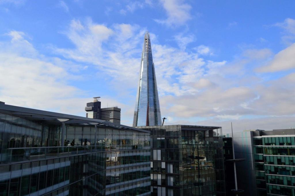 View of the Shard from City Hall floor 9