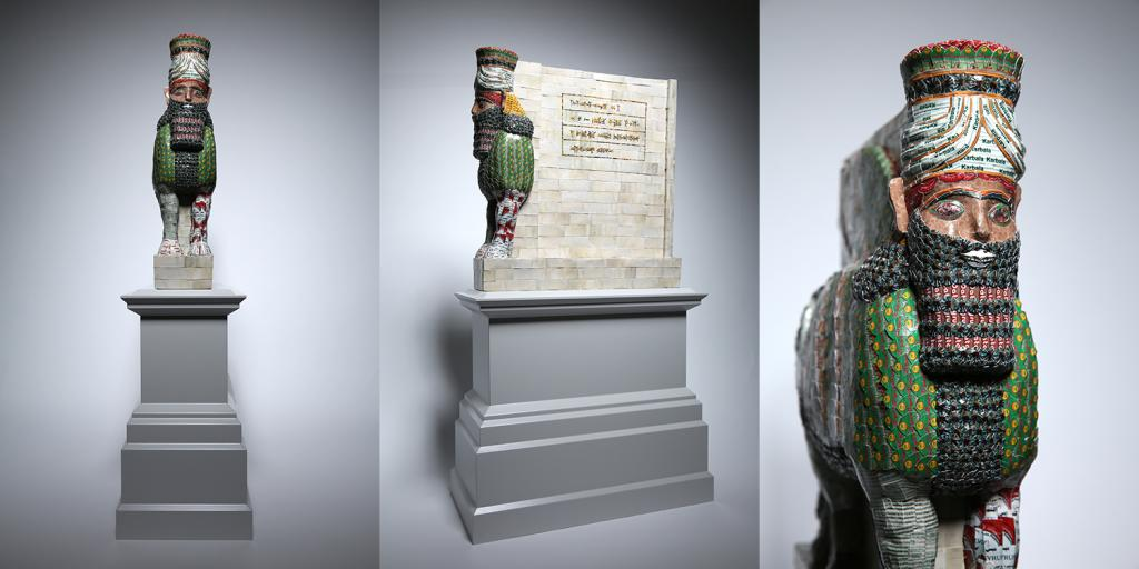 Fourth plinth submission Michael Rakowitz: The Invisible Enemy Should not Exist