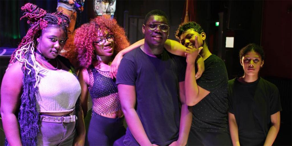 Young performers at Hoxton Hall