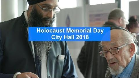 Highlights from the Annual Holocaust Memorial Day Ceremony - 'The Power of Words'