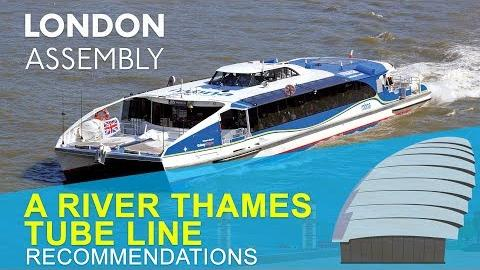 A river tube line – the untapped potential of the Thames