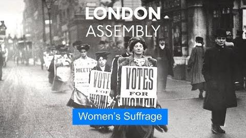Assembly marks 100 years of women's suffrage