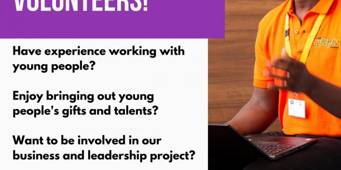 Junior Apprentice - Volunteer flyer