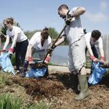 CSR event days - muck heap maintenance