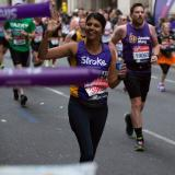 Aiysha - London Marathon