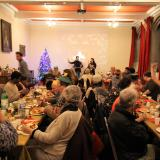 Christmas eve meal for homeless and older people