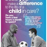 volunteer to befriend a child in care
